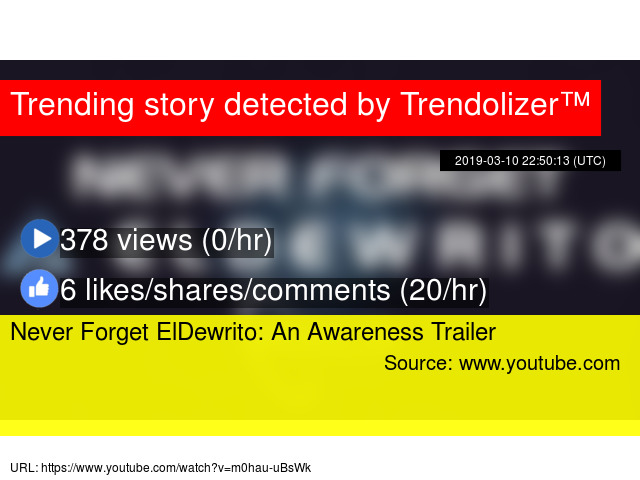 Never Forget ElDewrito: An Awareness Trailer